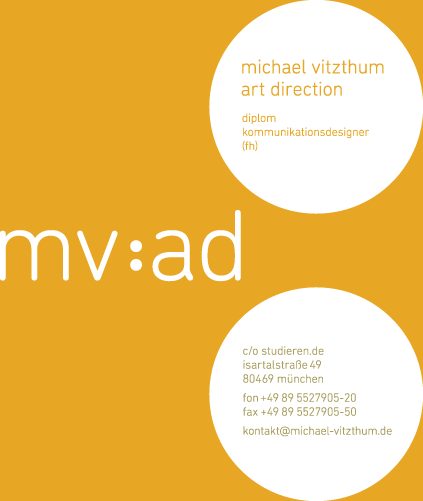 Michael Vitzthum | Art Direction